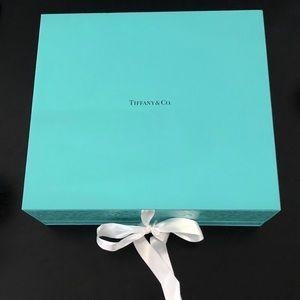 Tiffany & Co. Champagne Flute Box and Album